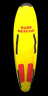Soft Surf Rescue board