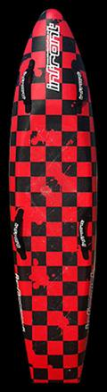 foam board red checker