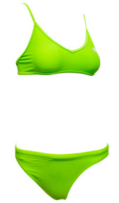 sports bikini green